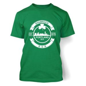 Soft Cotton Green Tshirt with Center Chest Logo (TS206W) pictures & photos
