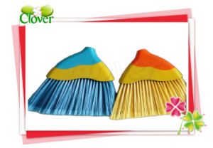Plastic Product PP Material Broom with Wood Handle pictures & photos