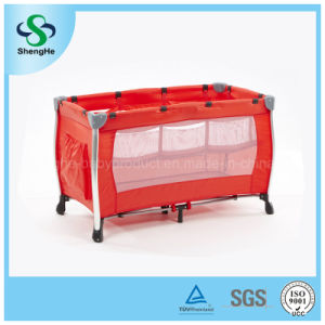 Safety Aluminum Comfortable Baby Playpen (SH-A8)