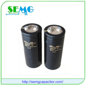 2200UF 350V High Voltage Electrolytic Start Capacitor pictures & photos