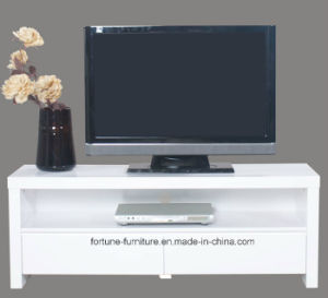 Modern Wooden UV High Gloss White TV Cabinet (5027)