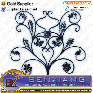 Flower Wrought Iron Craft ornament for Home&Garden pictures & photos
