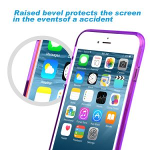 Soft Bumper Case with Hard Clear Back Panel Cover for Apple iPhone 6s 4.7 Inch pictures & photos