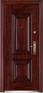 Steel Exterior Doors (WX-LS-298) pictures & photos