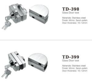 Hot Sale Stainless Steel Glass Door Lock (TD-399) pictures & photos