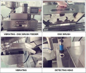 Dpp-140A Automatic Tablet Blister Packing Machine with Vibration Feeder pictures & photos