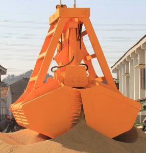 25t Radio Remote Control Grab Bucket for Vessel with ABS BV Certificate pictures & photos