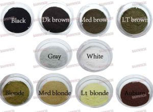 10 Colors Hair Loss Men Powder Instant Hair Fibers pictures & photos