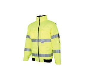 High Visibility Waterproof Safety Parka Coat pictures & photos