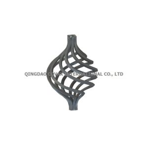Steel Baluster Cages MJ02.080 Wrought Iron Basket pictures & photos