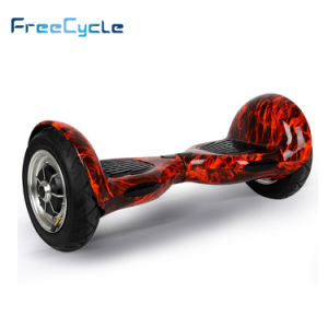 Us De UK Warehouse Samsung Battery 10 Inch Smart 2 Wheel Electric Standing Scooter Hoverboard Electric Scooter Skateboard with 2*350W Brushless Motor pictures & photos