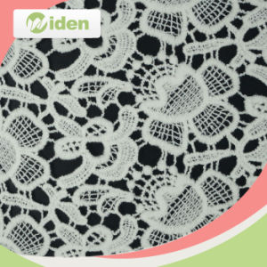 Hot Sell Cotton Lace Water Soluble Lace Fabric pictures & photos
