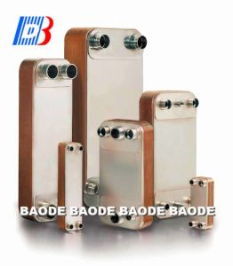 Nickel Brazed Heat Exchanger for Water Cooling & Heating (NL50) pictures & photos