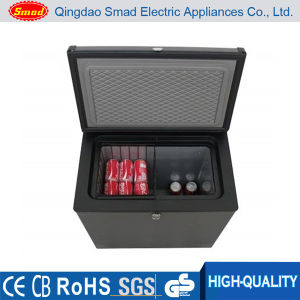DC 12V 24V Hotel & Home Use Noiseless Chest Deep Freezer Without Compressor pictures & photos