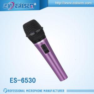 Es-6530 Studio Good Sound Quality Electret Condenser Microphone for KTV