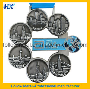 3D Marathon Medal with Antique Finish pictures & photos
