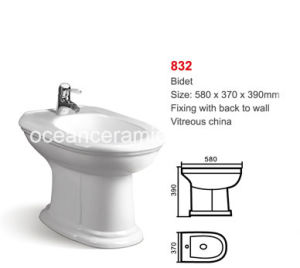 Ceramic Sanitary Ware for Women, Bathroom Bidet No. 832 pictures & photos