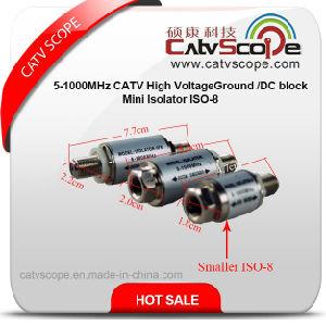ISO-8 5-1000MHz CATV High Voltageground Mini Isolator/DC Block pictures & photos