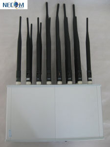Wholesale Cheap Mobile Phone and WiFi Signal Jammer, Newest Exclusive Dealing High Quality 14 Band GSM /CDMA /PCS /Dcs /3G Desktop Cell Phone Jammer pictures & photos
