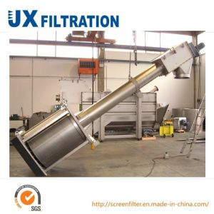 Titled Rotary Drum Filter for Sewage Treatment pictures & photos