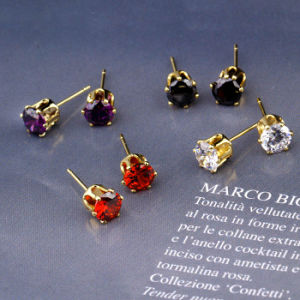 21782 Xuping Special Price Zircon Elegant Fashion Jewelry Earring Pin or Studs pictures & photos