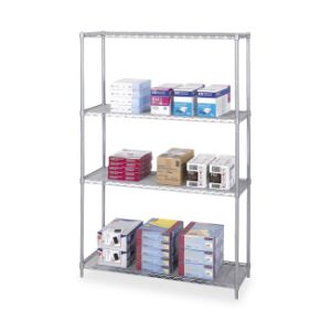 4 Tiers Home Kitchen Garage Office Wire Shelving Storage Rack pictures & photos