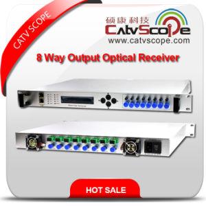 1u 8-Way Output Head-End Return Path Optical Node/8 Way Output Head-End Return Path Fiber Optic Node pictures & photos