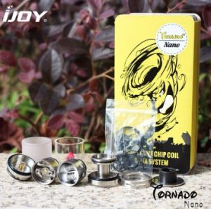 Rta and Sub Ohm Tank System Top Filling Ijoy Tornado Nano Tank pictures & photos
