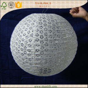 Promotional White Paper Lanterns for Wedding Decoraiton
