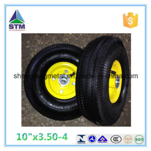The Highest Quality 4pr 10 Inch 3.50-4 Pneumatic Wheel pictures & photos