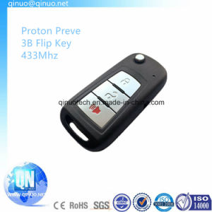New Proton Preve Flip Remote Key 433MHz with 3 Buttons pictures & photos