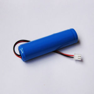 2600mAh 18650 3.7V Li-ion Lithium Rechargeable Battery Packs for Flashlight DIY Loudspeaker Amplifier pictures & photos