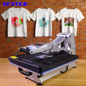 Heat Press Transfer Printing Swing Heat Press Machine for T-Shirts pictures & photos
