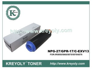 Toner Cartridge for Canon GPR-17/NPG 27/C-EXV 13 pictures & photos