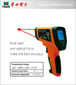 Oven Infrared Thermometer Hx600 with Dual Laser pictures & photos