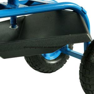 Work Rolling Four Wheels Garden Seat, Toll Cart, Garden Work Seat with Wheels pictures & photos