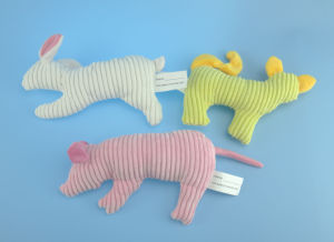 Soft Plush Pig Pet Toy with Squeaker pictures & photos