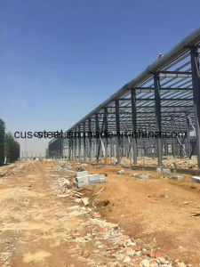 Large Span Steel Structure Prefabricated Warehouse Workshop Hangar Building pictures & photos