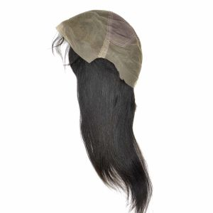 Brazilian Virgin Hair Front Lace Wigs (20Inch-Straight) pictures & photos