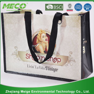 China Best! ! Factory Direct! Various Fabric and Pattern Reusable Shopping Bag, PP Woven Shopping Bag, Nonwoven Shopping Bag (MECO122) pictures & photos