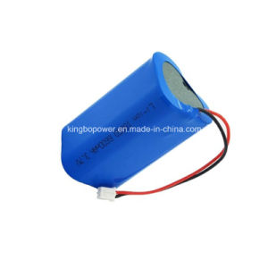 3.7V Rechargeable Li-ion Battery/Lithium Car Battery (6600mAh)