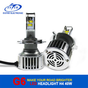 Evitek High Power LED Lighting G6 H4 40W 4500lm LED Headlight for Car/Truck pictures & photos