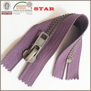 2016 Closed End Metal Zipper High Quality for Garments