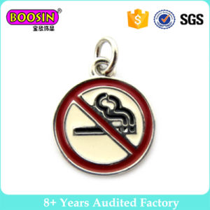 "Boosin ""No Smoking"" Signs Round Japanese Style Enamel Pendants Charms pictures & photos"