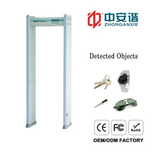 18 Detection Zones Body Scaner Archway Metal Detector with Double Infrared pictures & photos