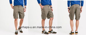 Cool Mens Leisure Cargo Pants with Ripstop Printing pictures & photos