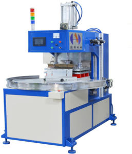 3 Times Efficiency--Hf Welding and Cutting Machine for Leather Welding, PU Leather Welding, Ce Approved pictures & photos
