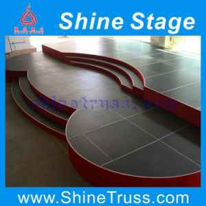2015 Shape Customized Stage with Stair for Audio, Video & Lighting pictures & photos