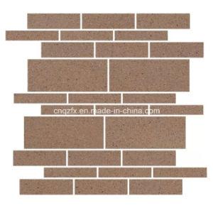 Terracotta Brick Tile Mosaic and Wall Facade