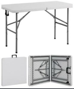 Easy Catering Folding Table, Plastic Table, Banquet Dining Table pictures & photos